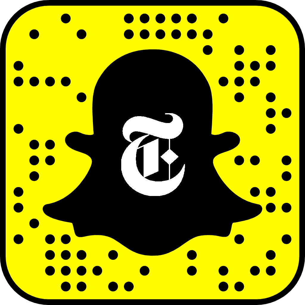 New York Times Snapchat username