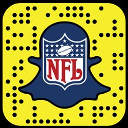 NFL Snapchat username