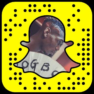 Paul Pogba Snapchat username