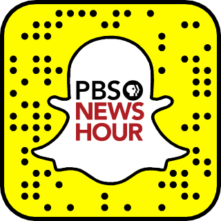 PBS NewsHour Snapchat username