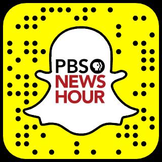 PBS NewsHour Snapchat username