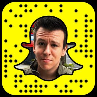 Philip DeFranco Snapchat username