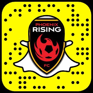 Phoenix Rising FC Snapchat username