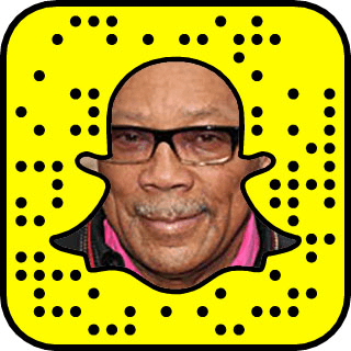 Quincy Jones Snapchat username