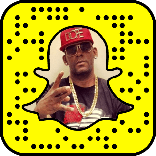 R. Kelly Snapchat username