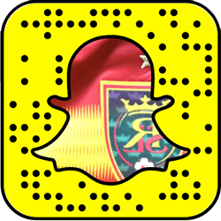 Real Salt Lake Snapchat username