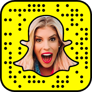 Rebecca Zamolo Snapchat username