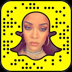 Rihanna Snapchat username