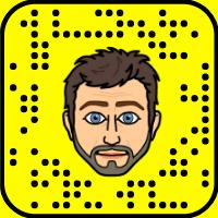 Rob Benedict Snapchat username