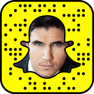 Robbie Amell Snapchat username