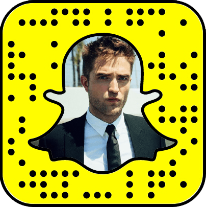 Robert Pattinson snapchat