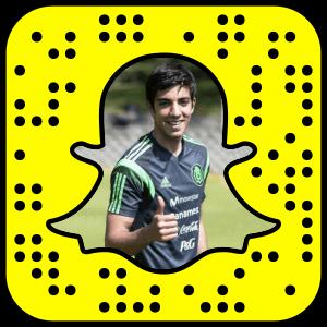 Rodolfo Pizarro Snapchat username