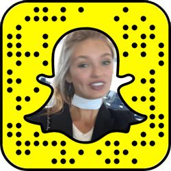 Romee Strijd Snapchat username