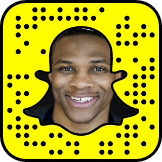 Russell Westbrook Snapchat username