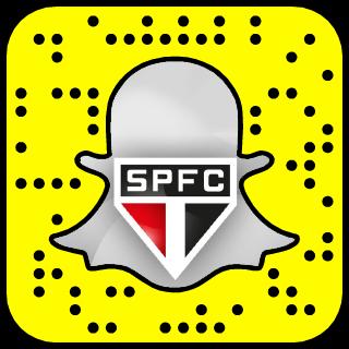 São Paulo FC Snapchat username