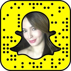 Sarah Lahbati Snapchat username