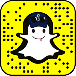 Seattle Mariners Snapchat username