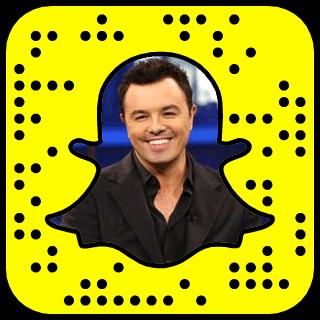 Seth MacFarlane Snapchat username