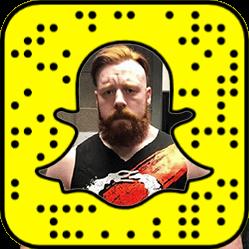 Sheamus Snapchat username