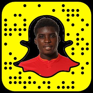 Sheyi Ojo Snapchat username