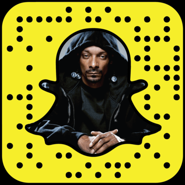 Snoop Dogg snapchat