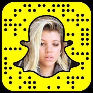 Sofia Richie snapchat