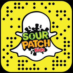 Sour Patch Kids snapchat
