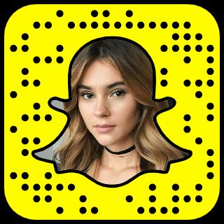Stefanie Giesinger Snapchat username