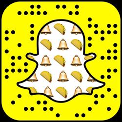 Taco Bell Snapchat username