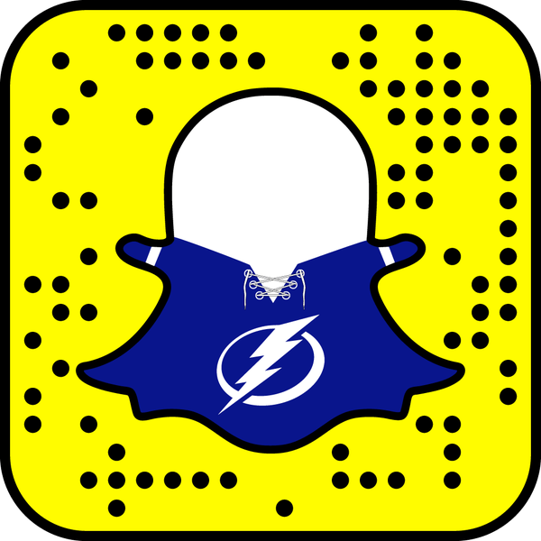 Tampa Bay Lightning snapchat