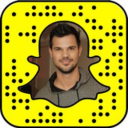Taylor Lautner snapchat