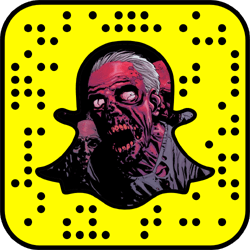 The Walking Dead Snapchat username