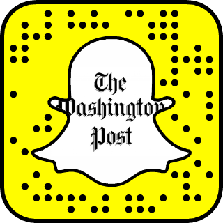 The Washington Post Snapchat username
