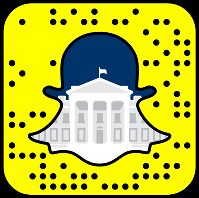 The White House snapchat