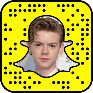 Thomas Brodie-Sangster snapchat