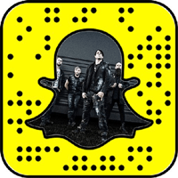 Three Days Grace snapchat