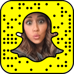 Tianna Gregory Snapchat username