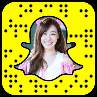 Tiffany Hwang Snapchat username