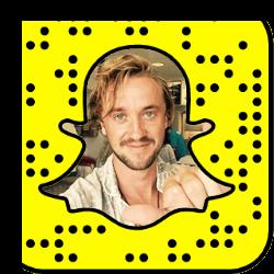 Tom Felton Snapchat username