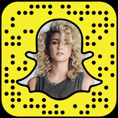 Tori Kelly Snapchat username