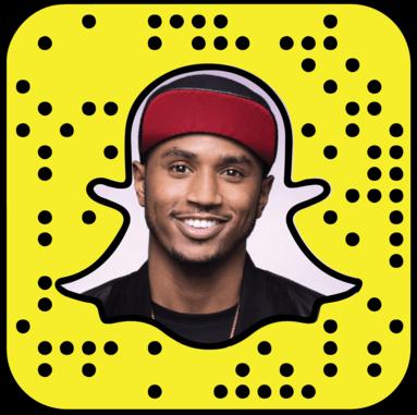 Trey Songz Snapchat username