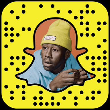 Tyler, The Creator snapchat