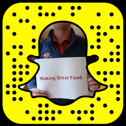 Tyson Foods Snapchat username