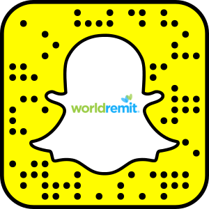 WorldRemit Snapchat username