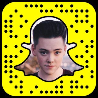 Zach Herron Snapchat username