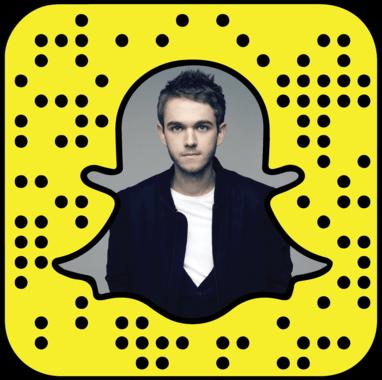 Zedd Snapchat username