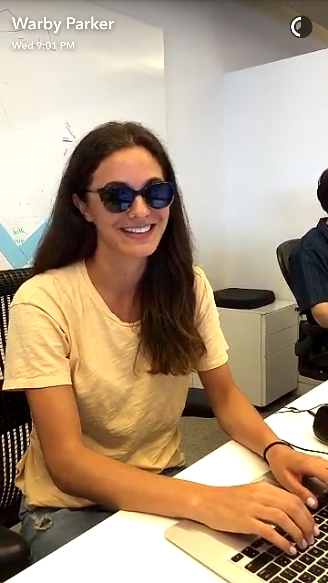 Allison Parker Snap Chat Videos check out warby parker's snapchat username and find other
